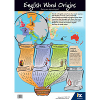 Word Origins Poster (A1 Size)
